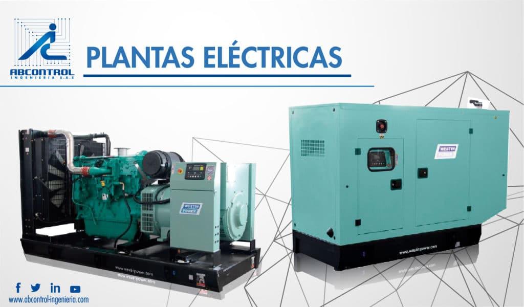 venta, alquiler y mantenimiento de Plantas eléctricas